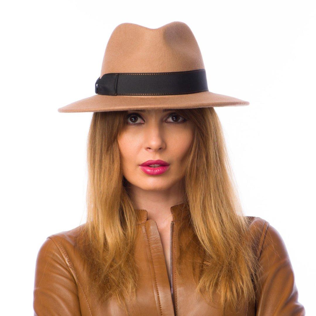Palarie Milano camel