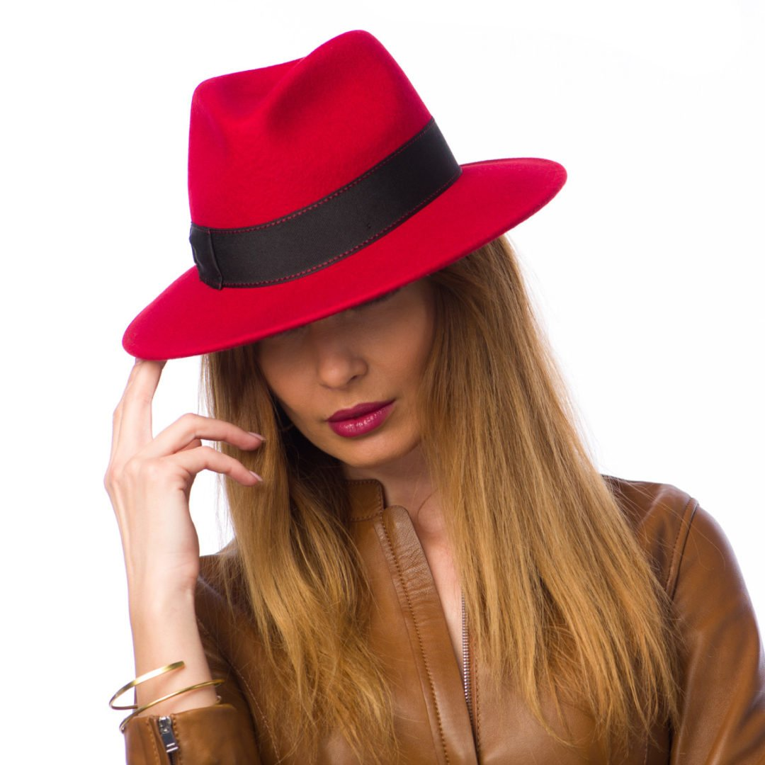Palarie Milano rosso