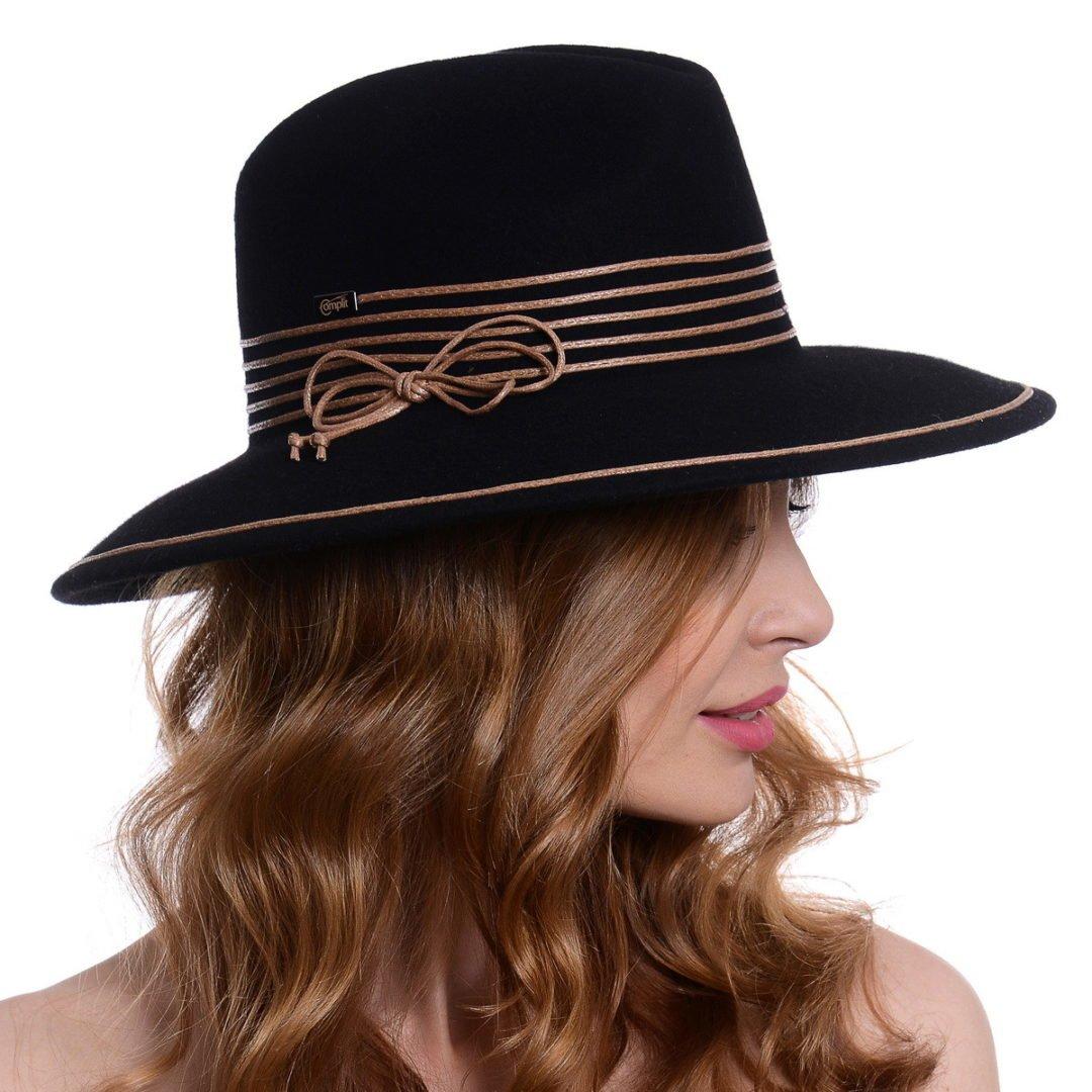 Pălărie Elaine black/brown