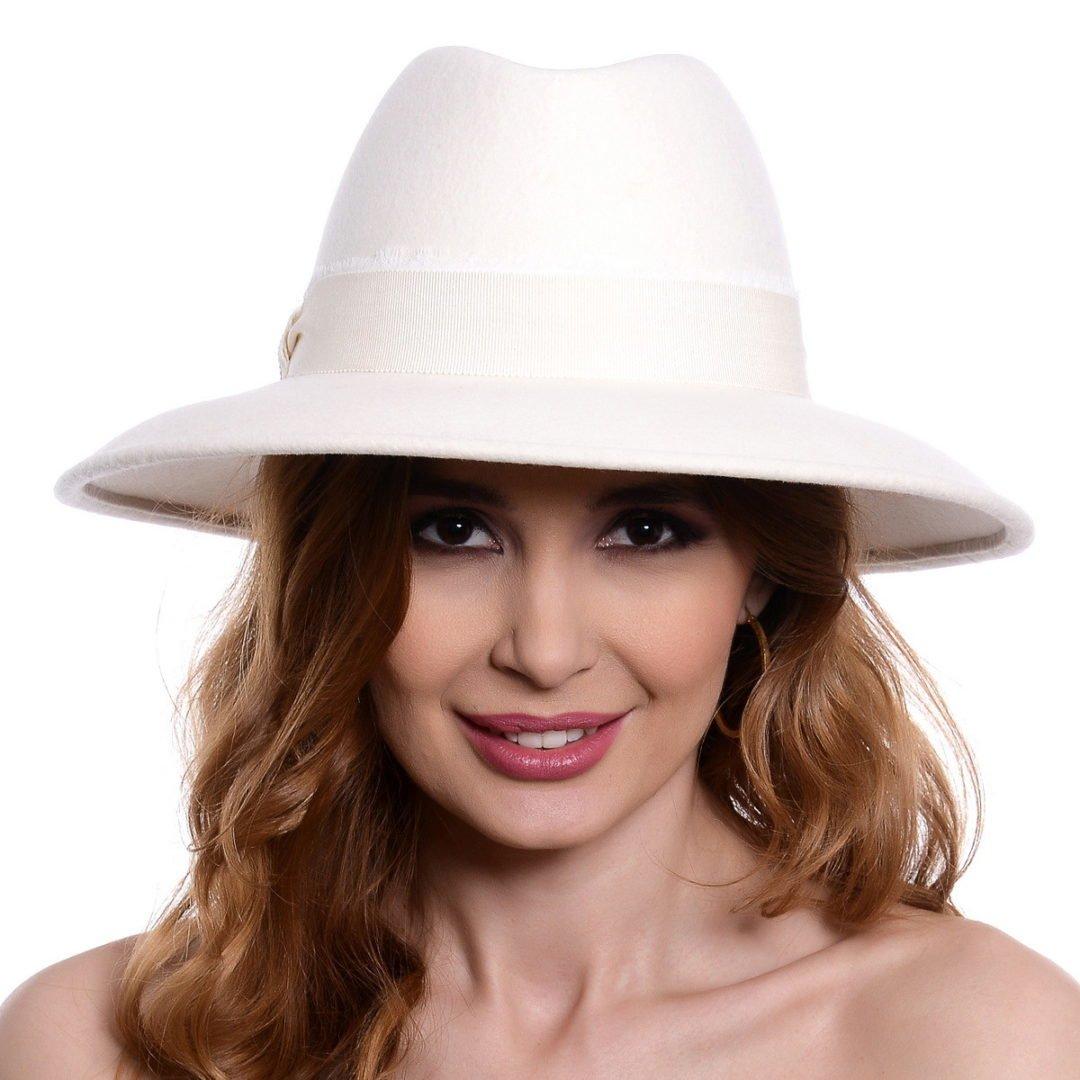 Pălărie Megan alba