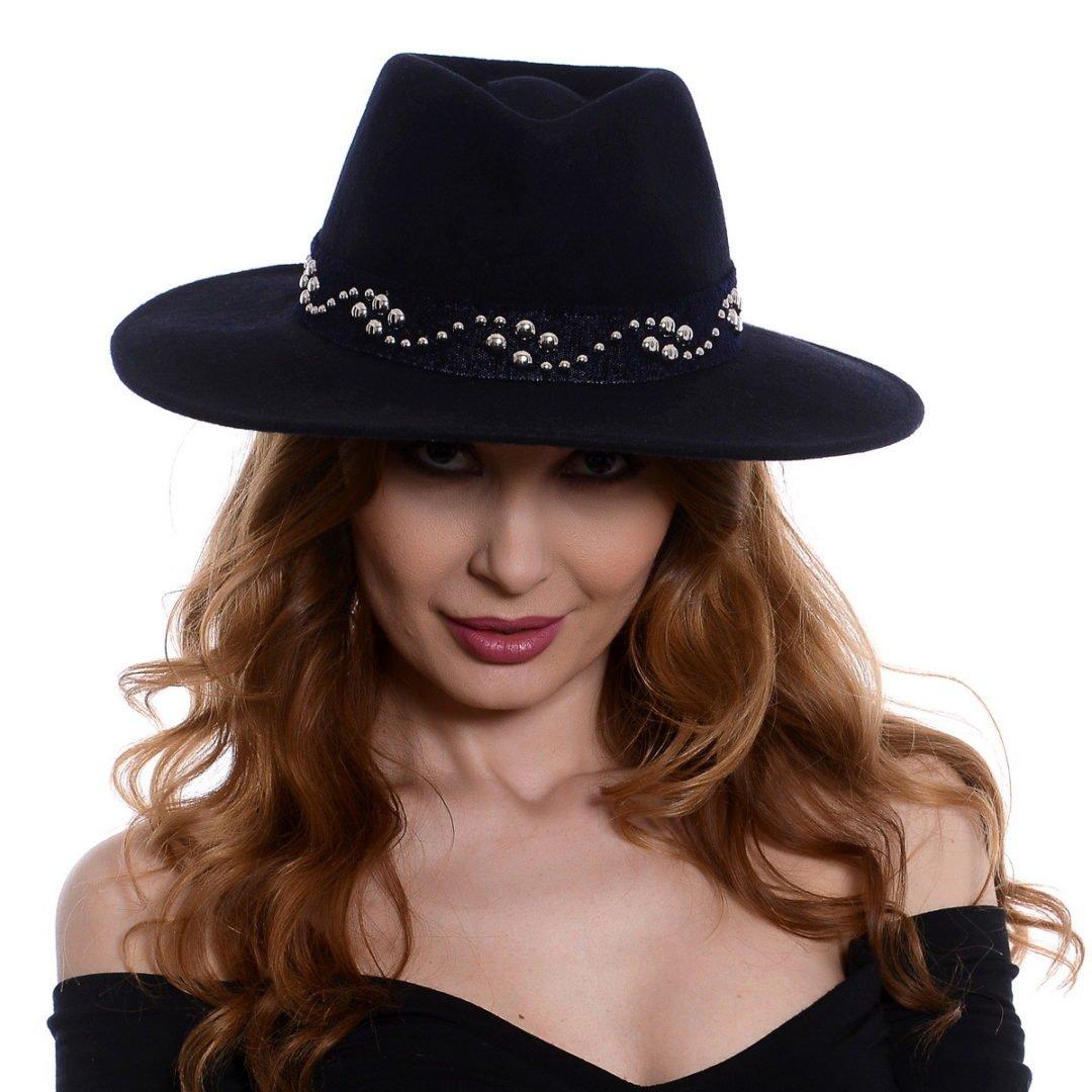 Pălărie Kandy albastru