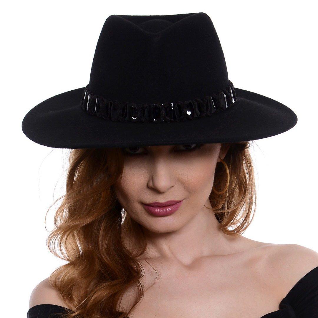 Pălărie Sena negru