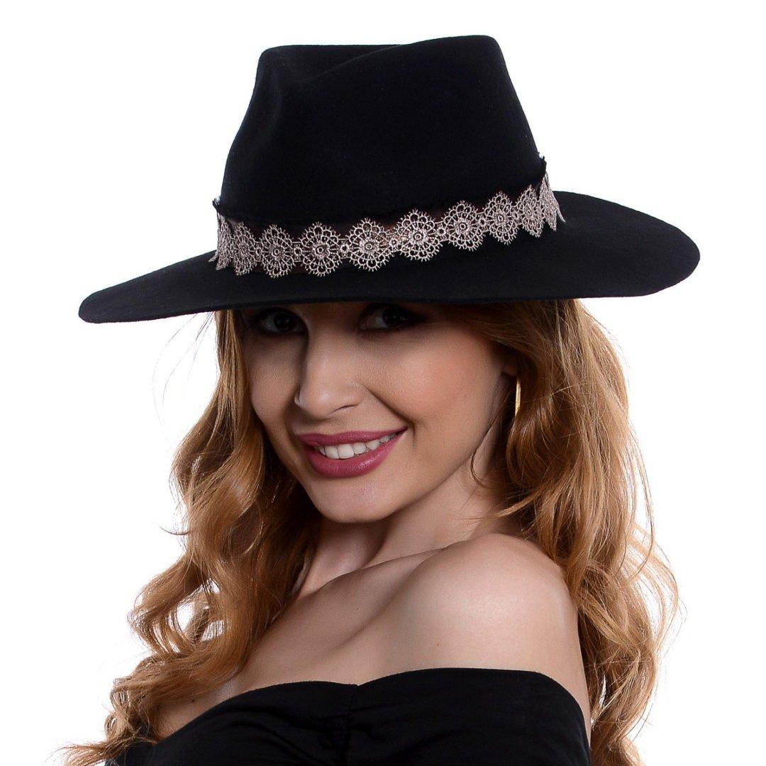 Pălărie Vecchi negru