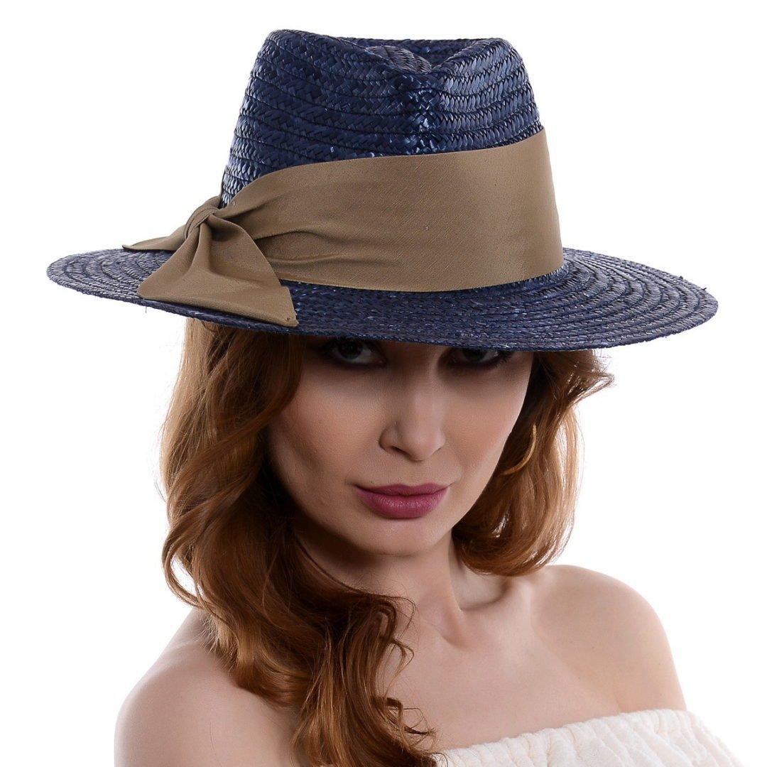 Pălărie Delice albastru paie