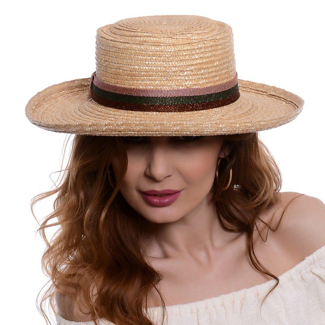 Pălărie Venice Grande paie