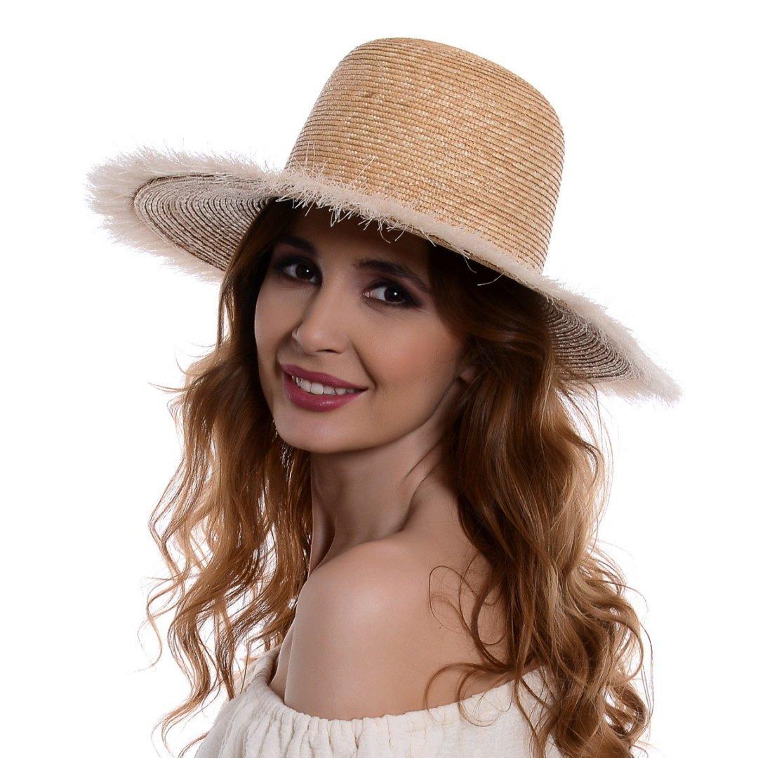 Pălărie Ruffles 1 paie