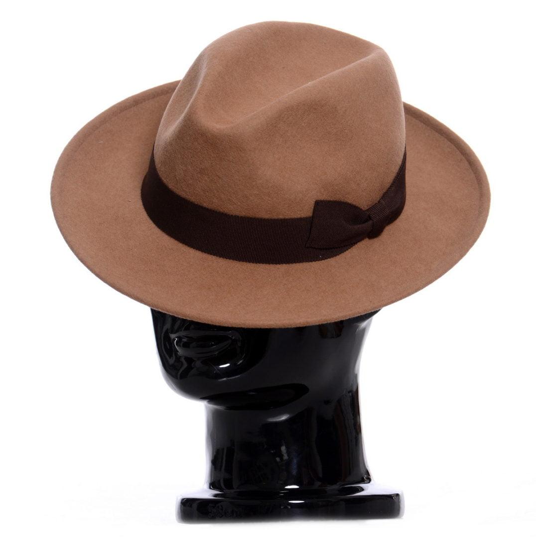 Pălărie Rucci, maro