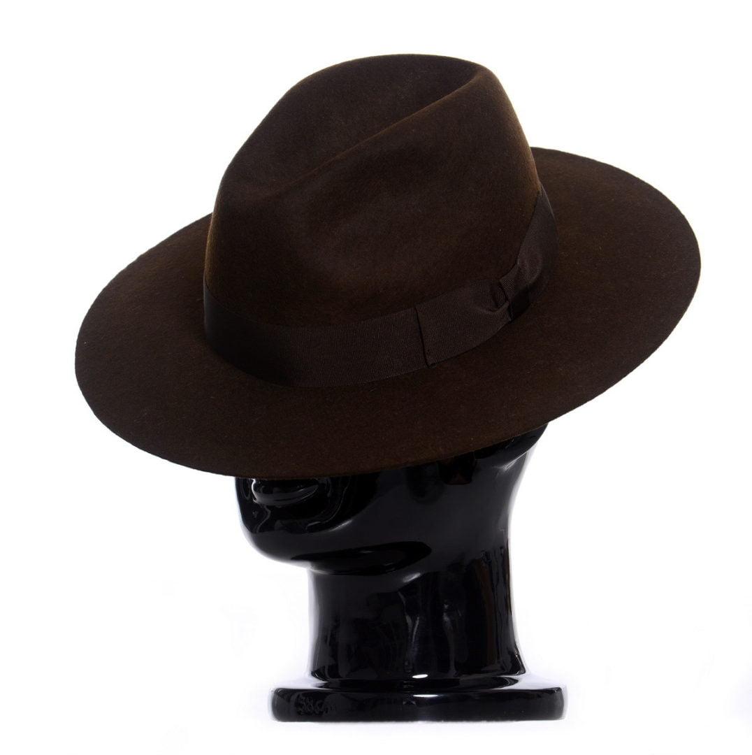 Pălărie Athos - maro