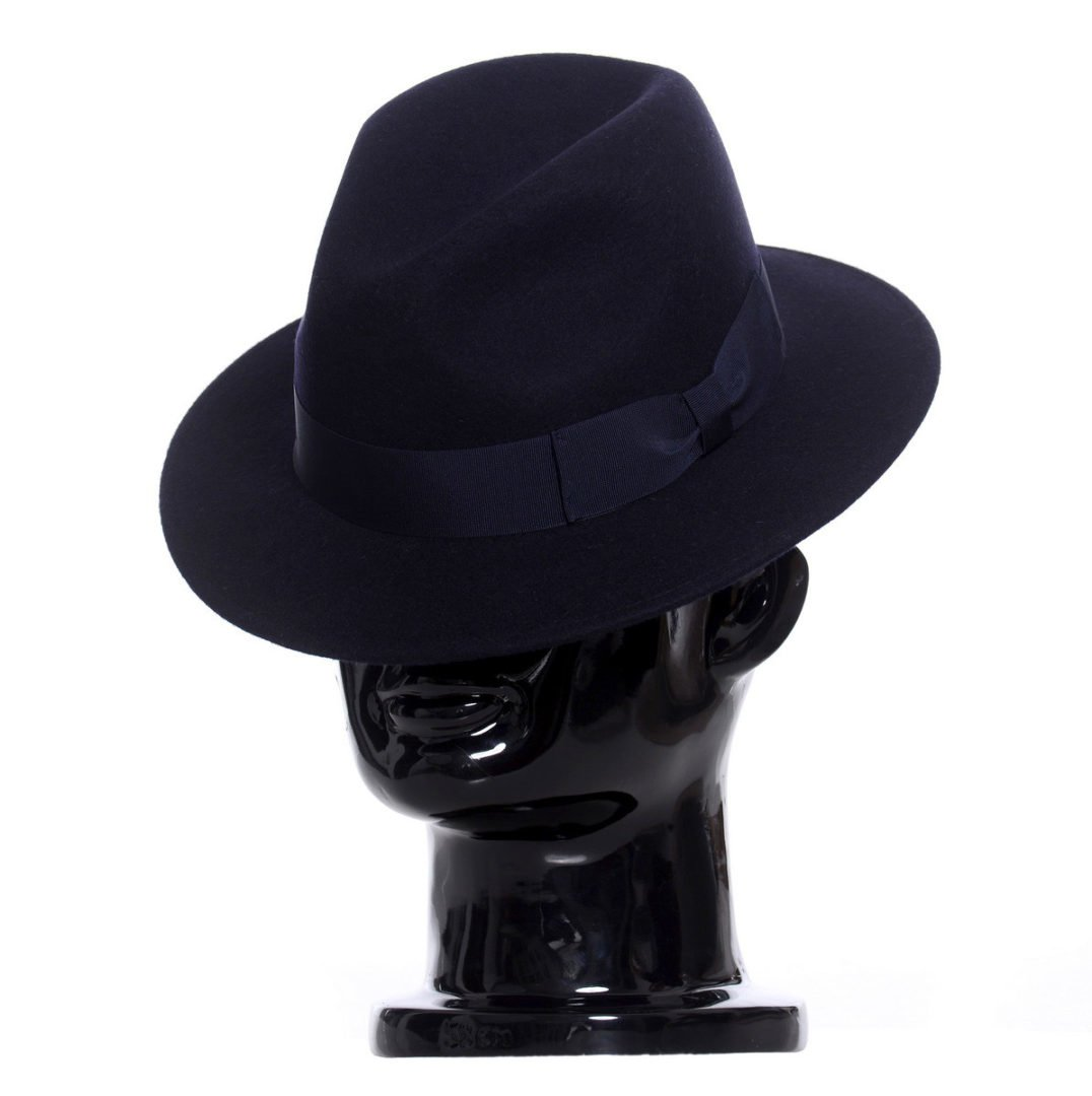 Pălărie Mojo, albastra