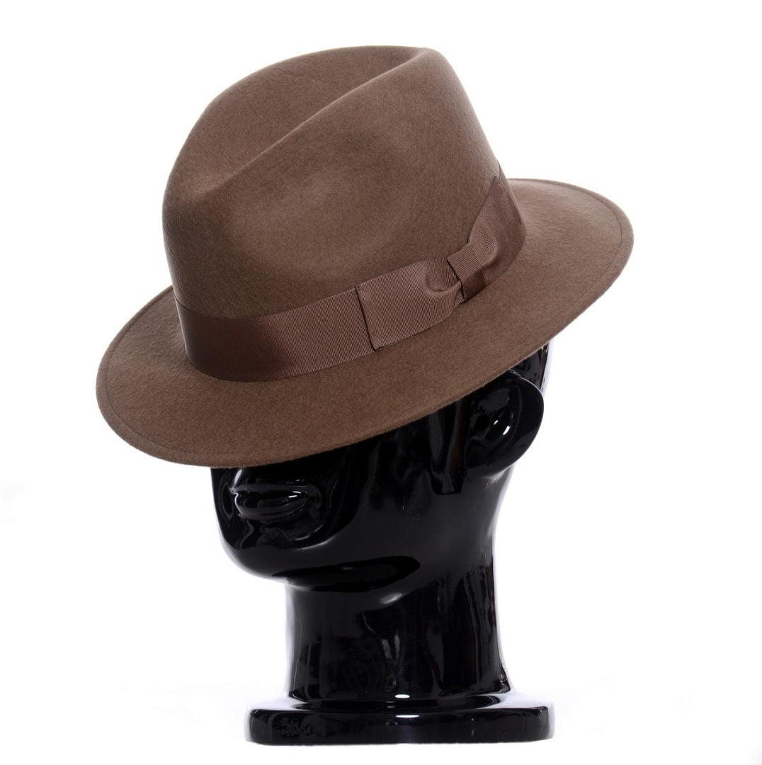 Pălărie Mojo maro-camel