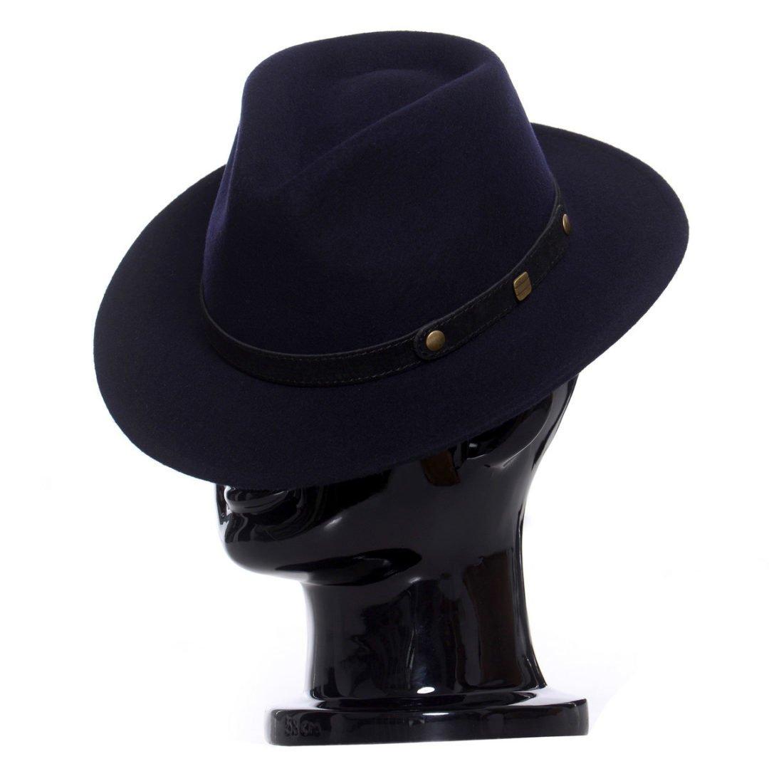 Pălărie Adami albastru