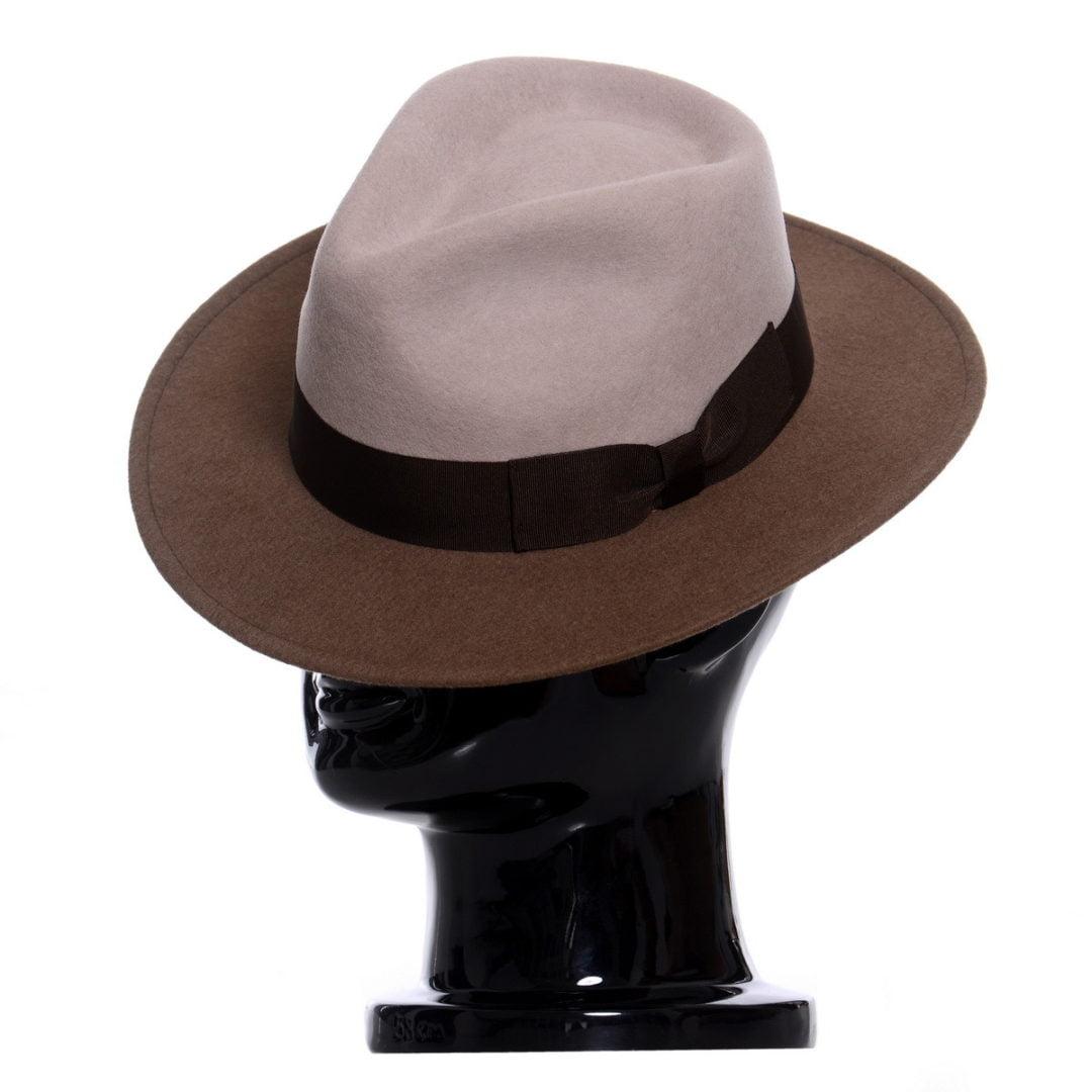 Pălărie Adami bicolore