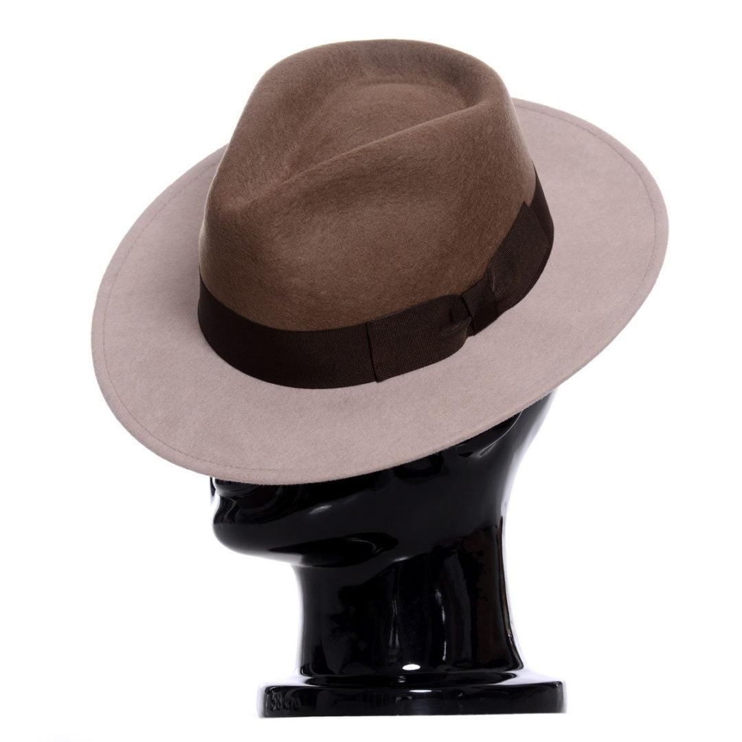 Pălărie Adami, bicolore