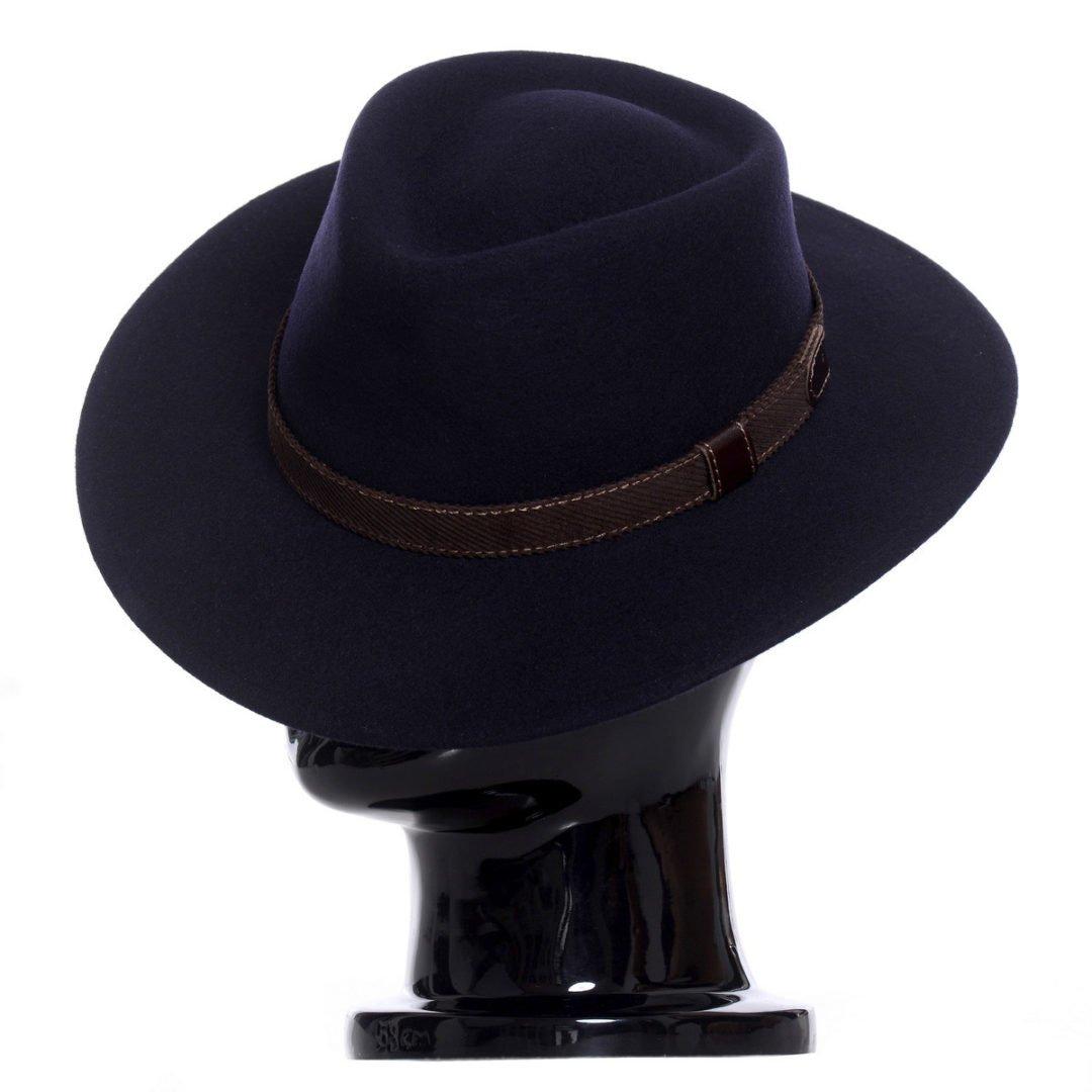 Pălărie Casablanca, albastru