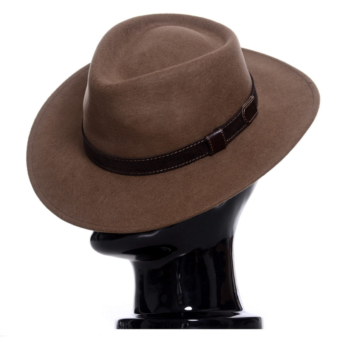 Pălărie Casablanca maro-camel