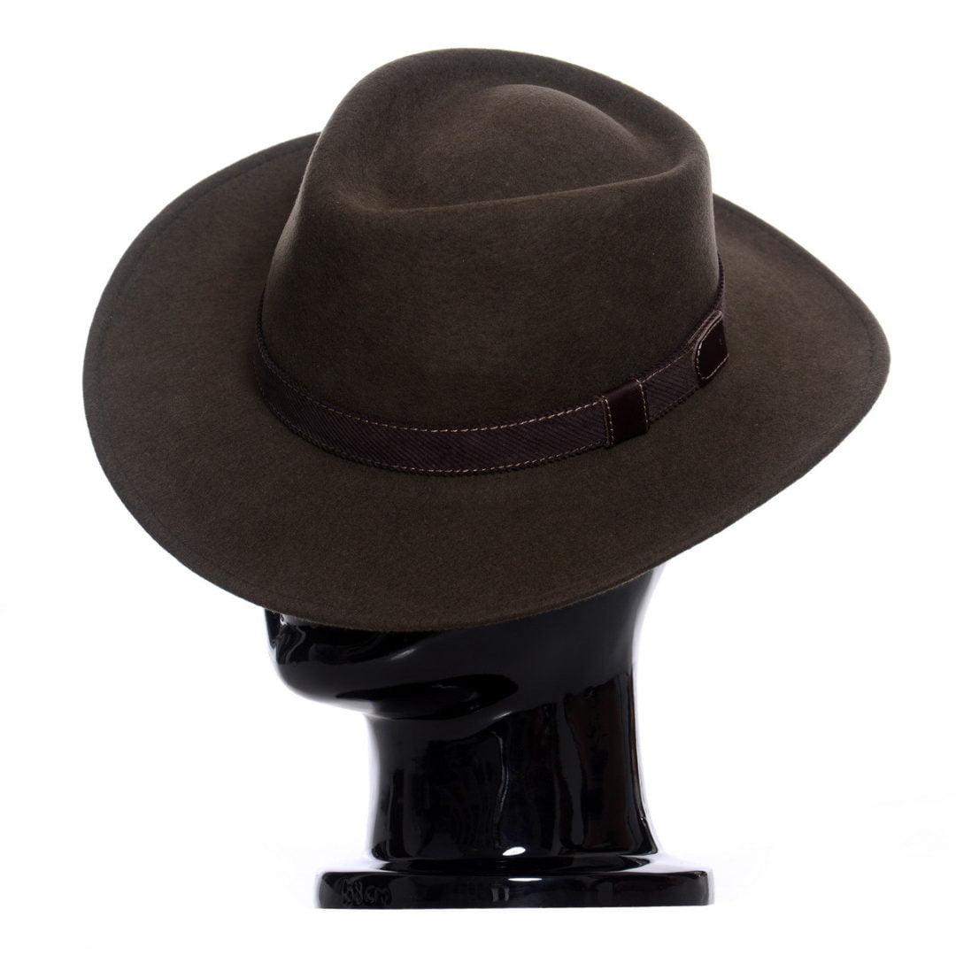 Pălărie Casablanca verde-oliva