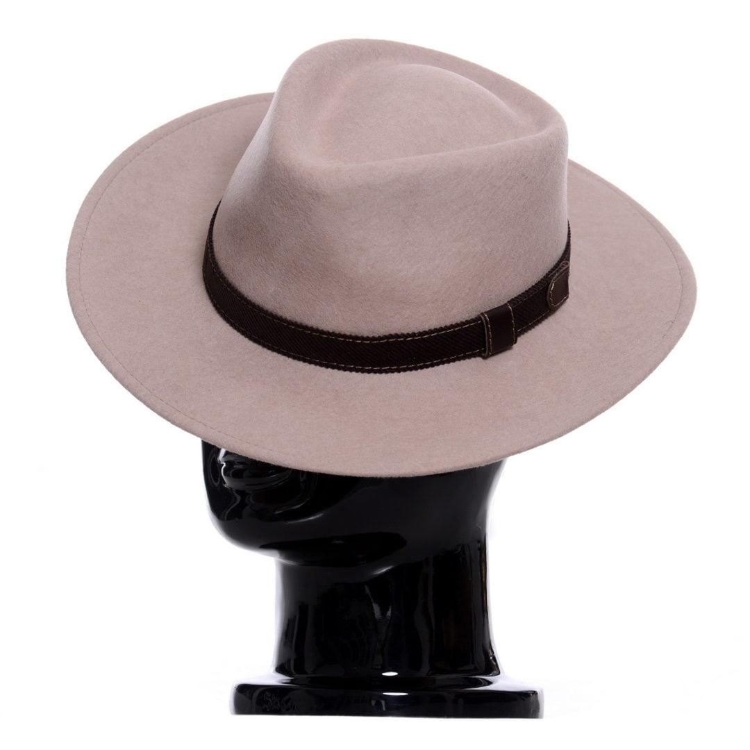 Pălărie Casablanca tortora