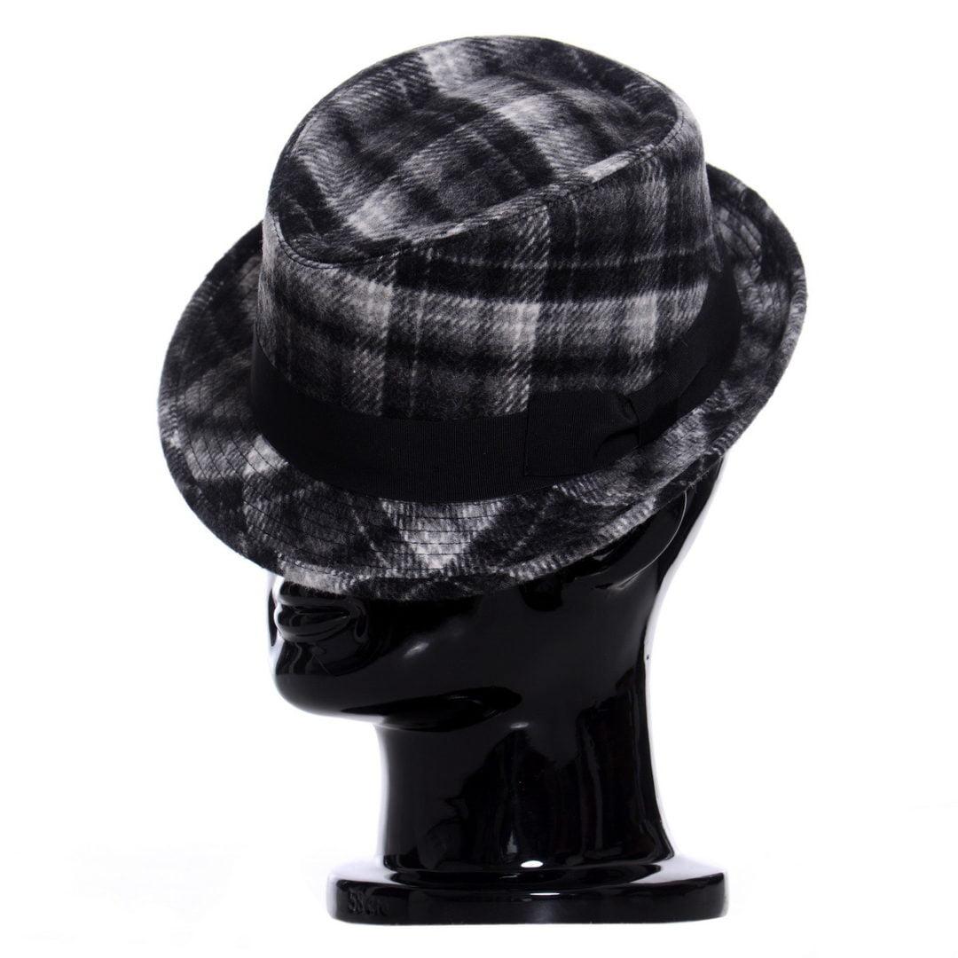 Pălărie Santy negru scozzese