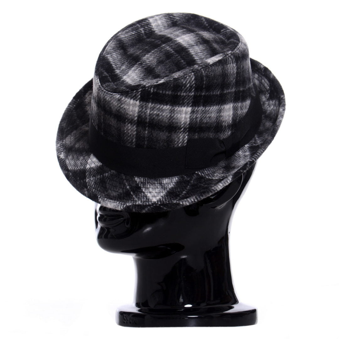 Pălărie Santy nero scozzese