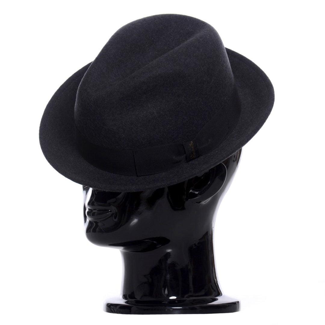 Pălărie Mike, grigio melange