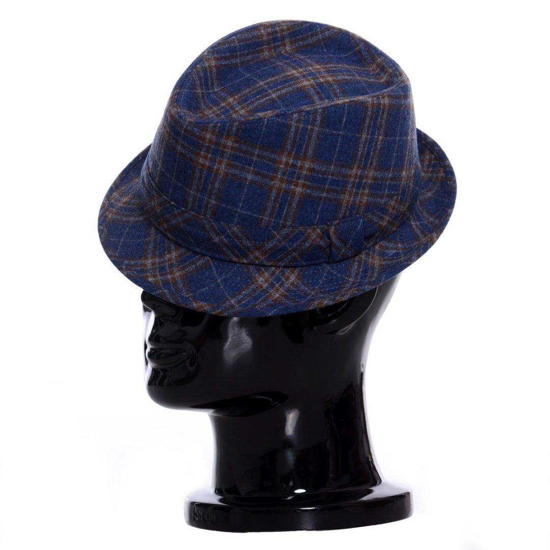 Pălărie Santy blu fantasia