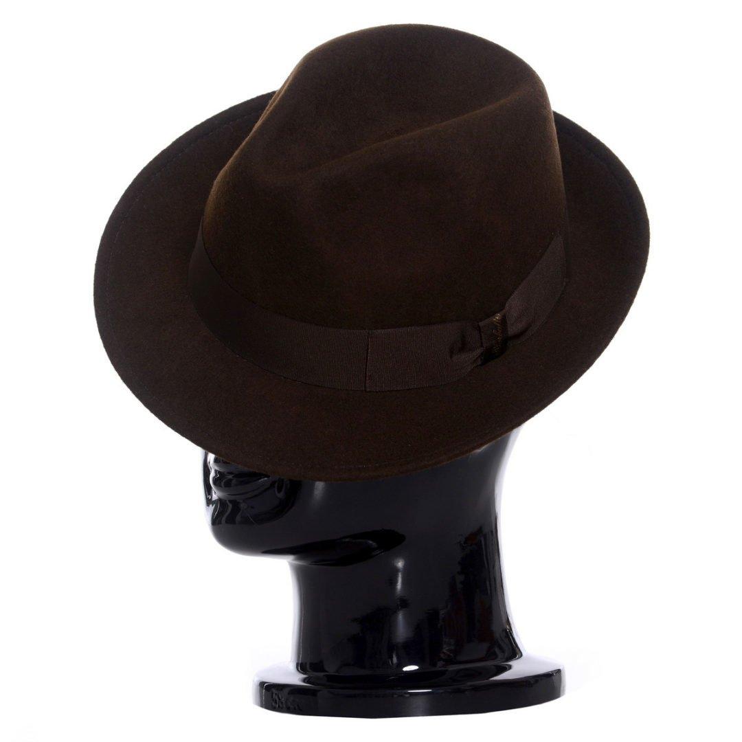 Pălărie Bob, maro
