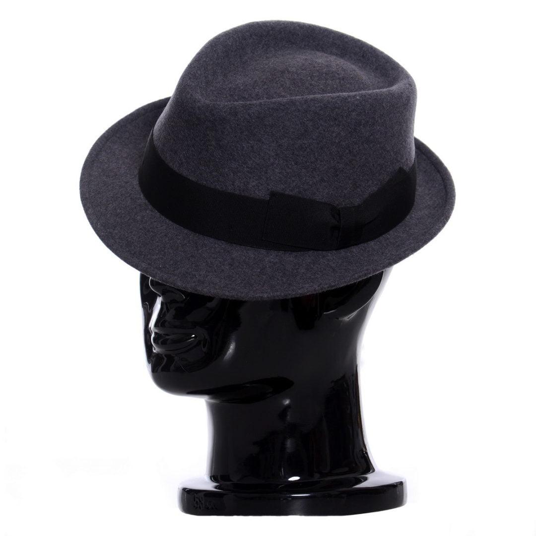 Pălărie Santy grigio melange