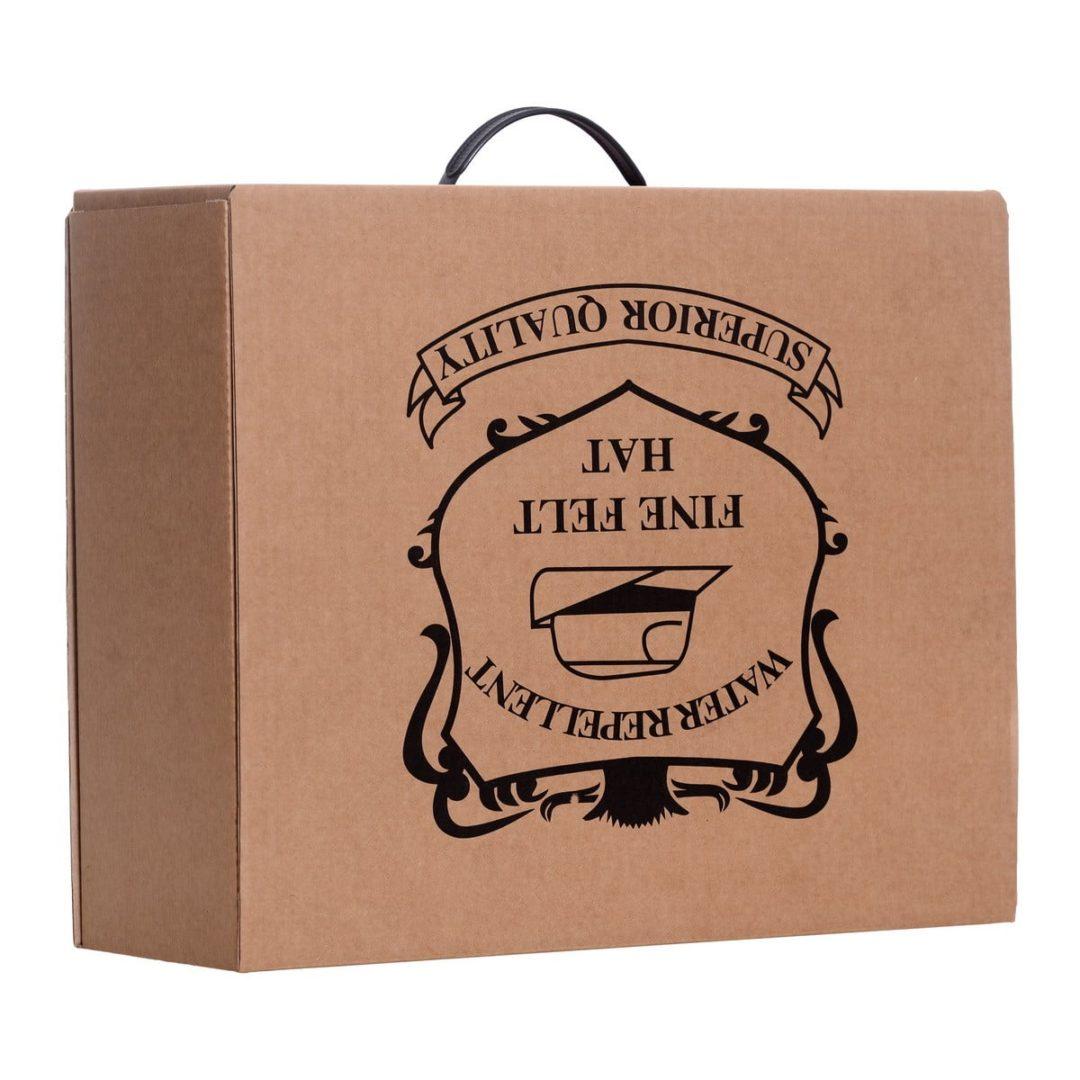 Cutie carton cu maner - L41/l34/H16cm