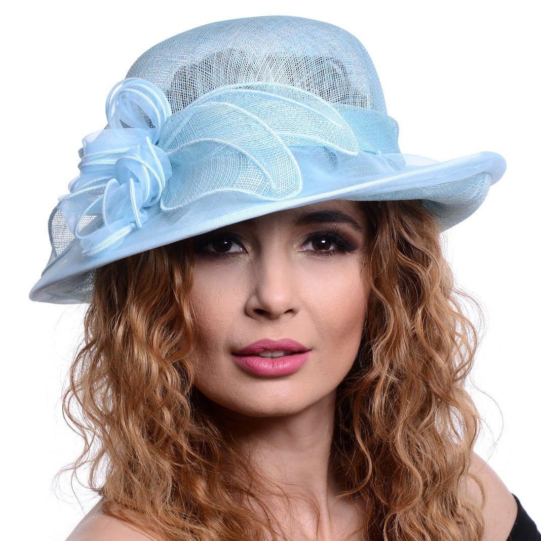 Palarie Ivette, baby blu