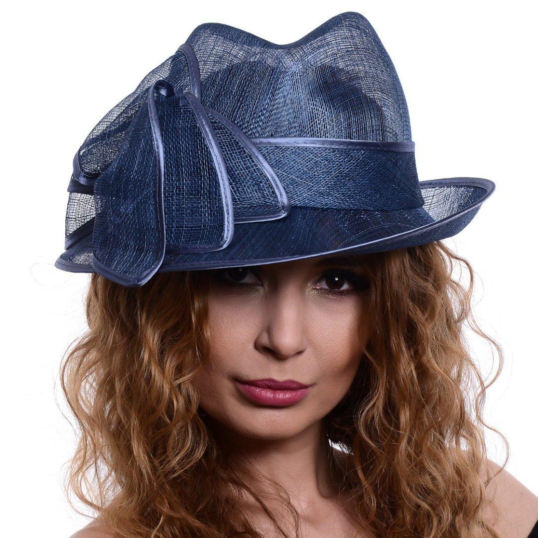 Palarie Capri, albastra