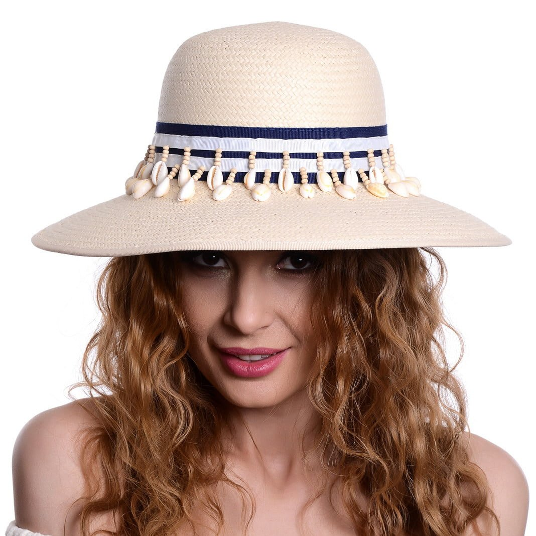 Pălărie Oyster naturale
