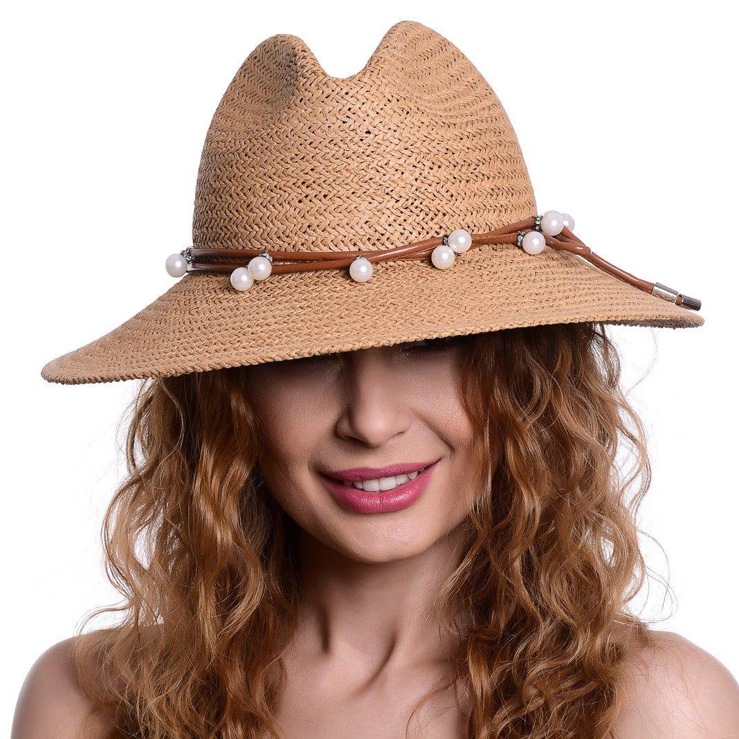 Pălărie Chill beige/marone