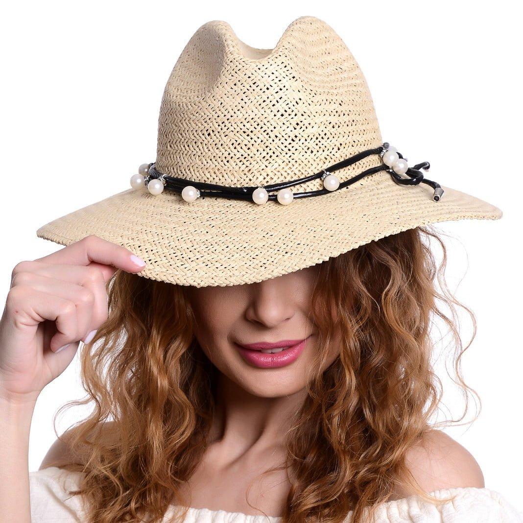 Pălărie Chilll naturale/nero