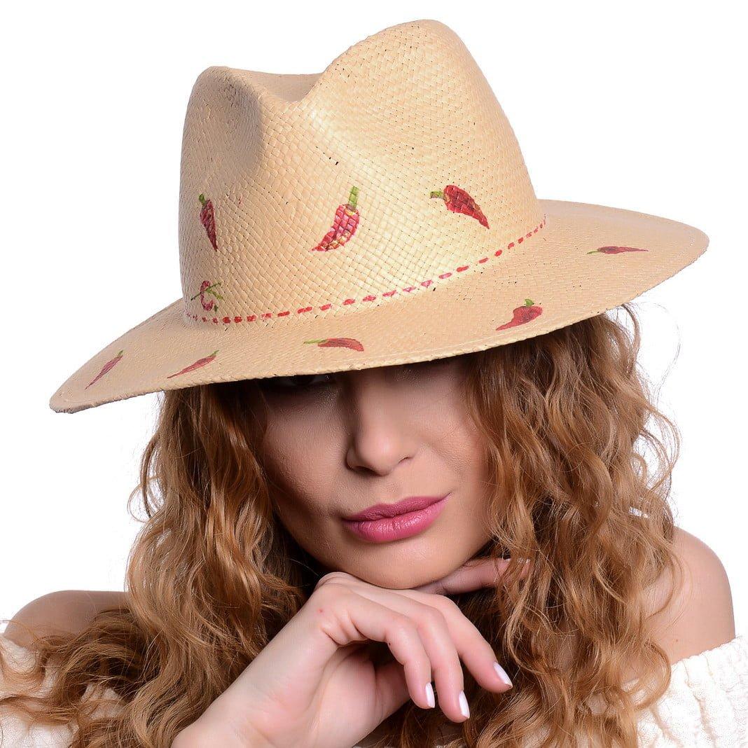 Pălărie Chilly naturale