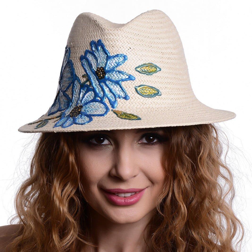 Pălărie Loft flower blu