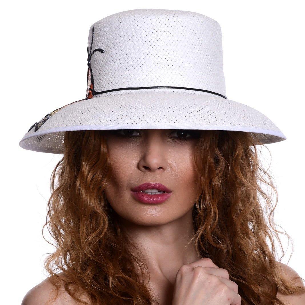 Pălărie Mara butterfly