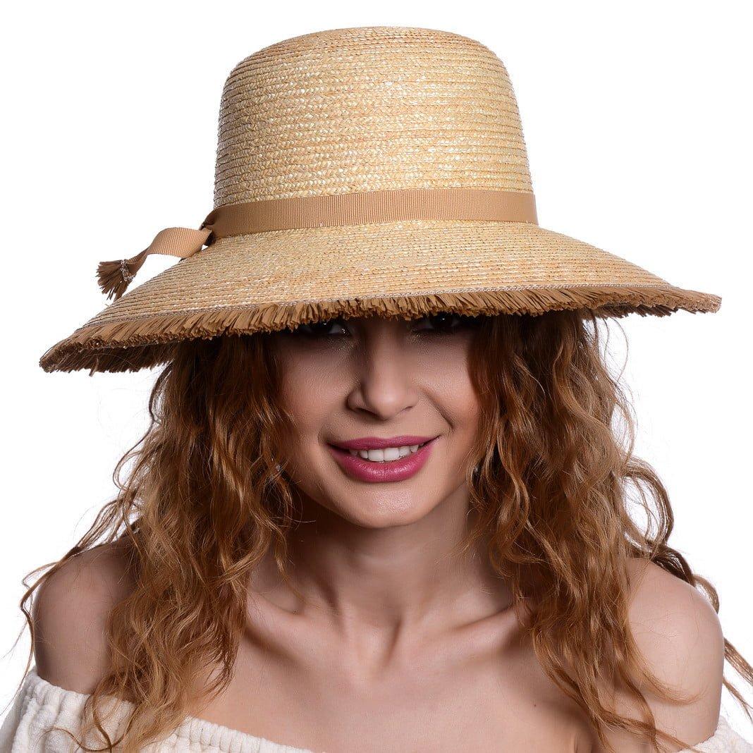 Pălărie Mara naturale/beige