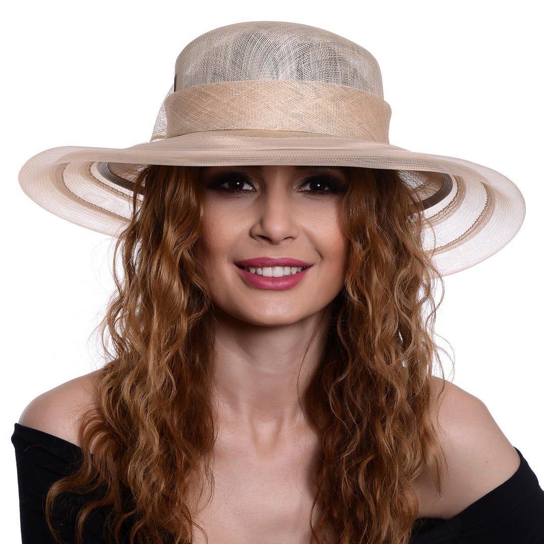 Palarie Anya beige