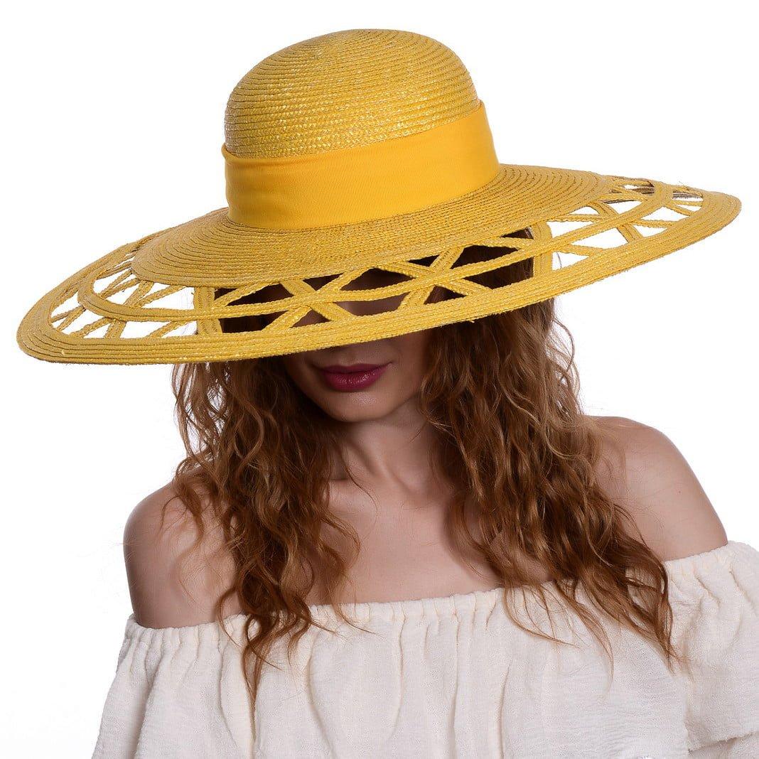 Pălărie Qitar giallo