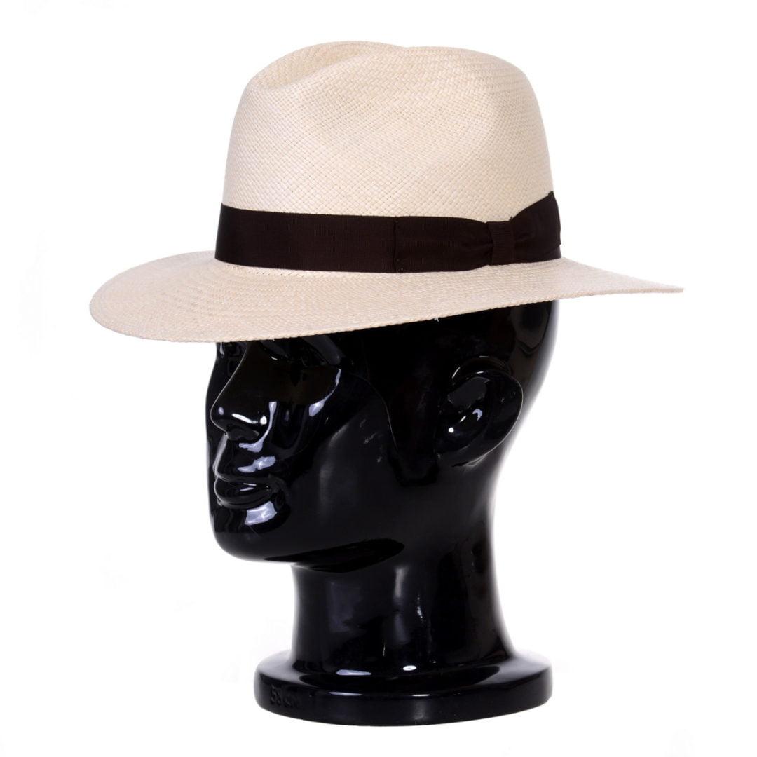 Pălărie Panama Bonnie nat/moro