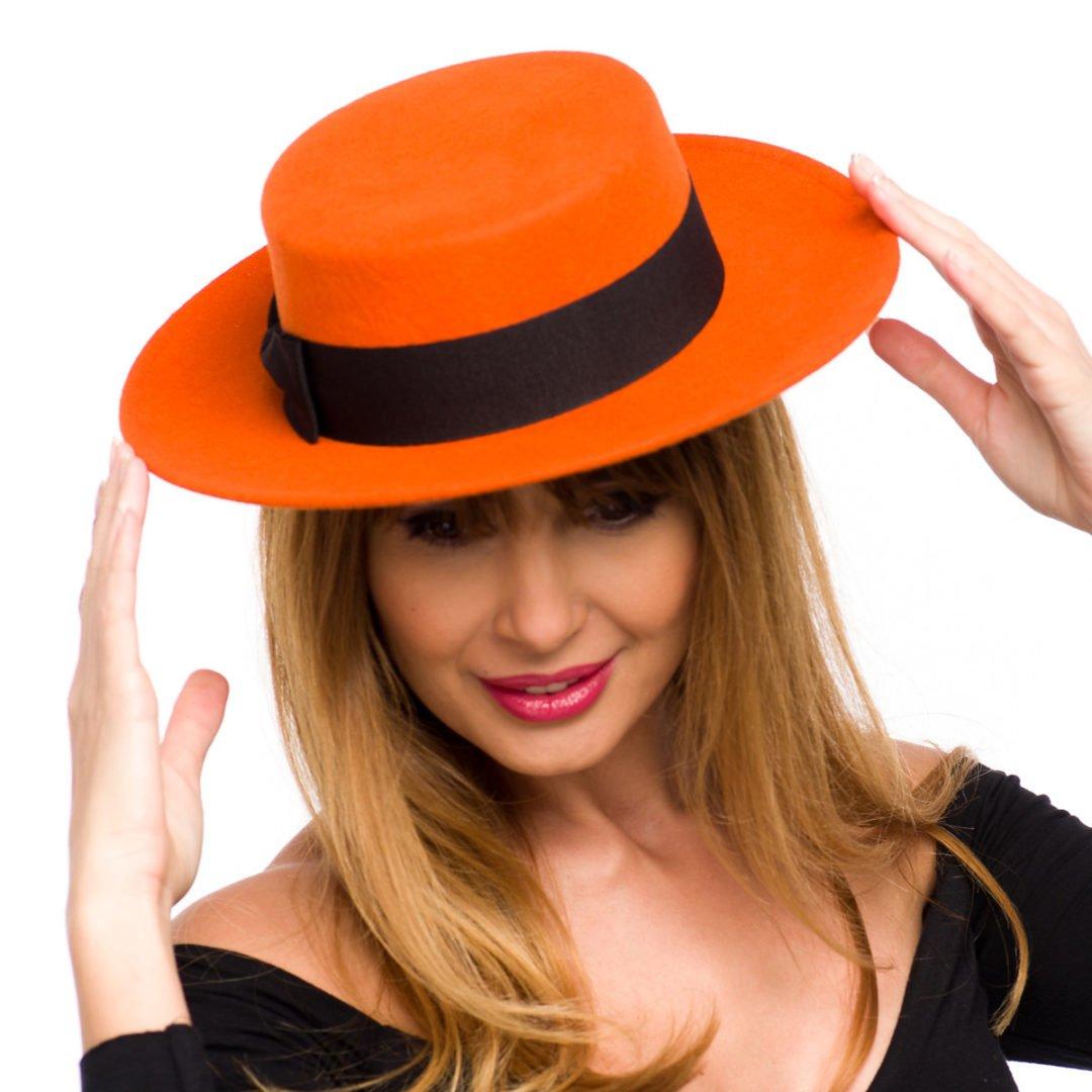 Canotiera Antonia small arancio