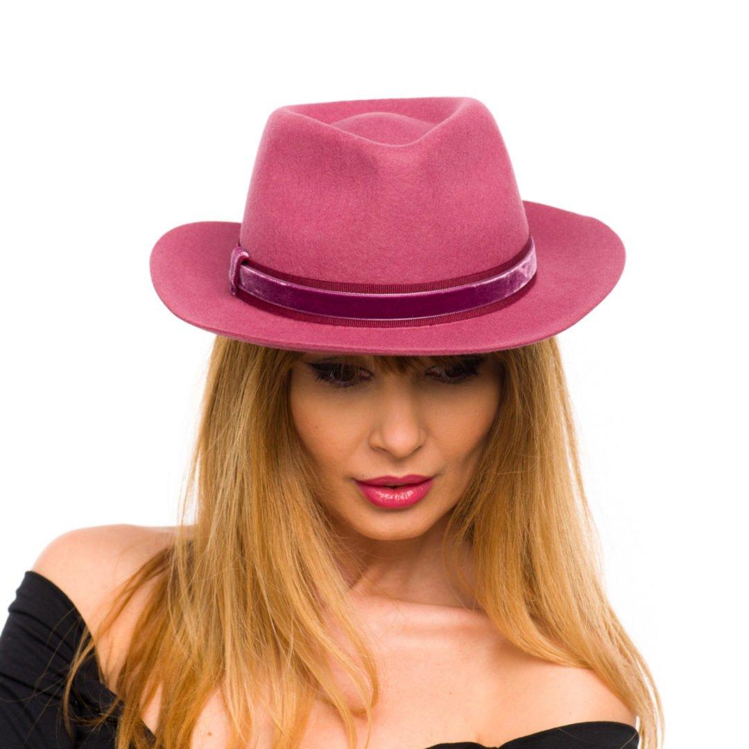 Palarie Fun dark pink