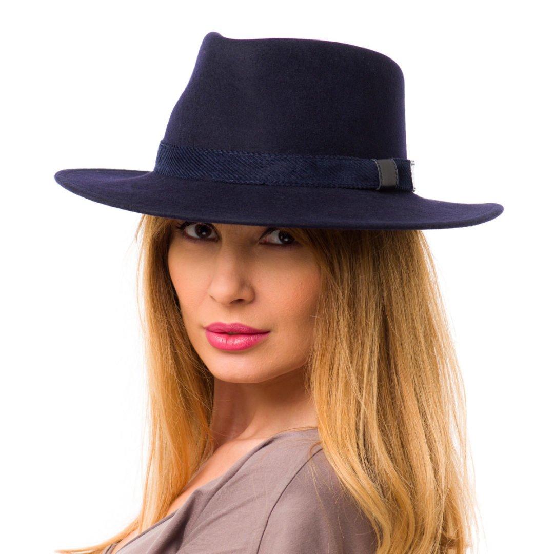 Palarie Casablanca blu