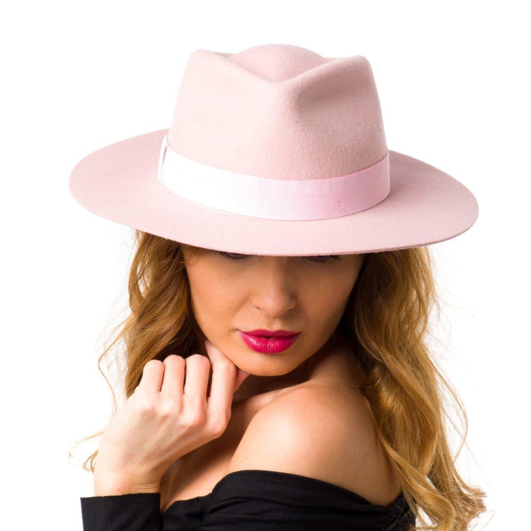 Palarie Siena rosa