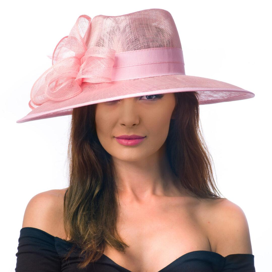Palarie Anais, roz deschis