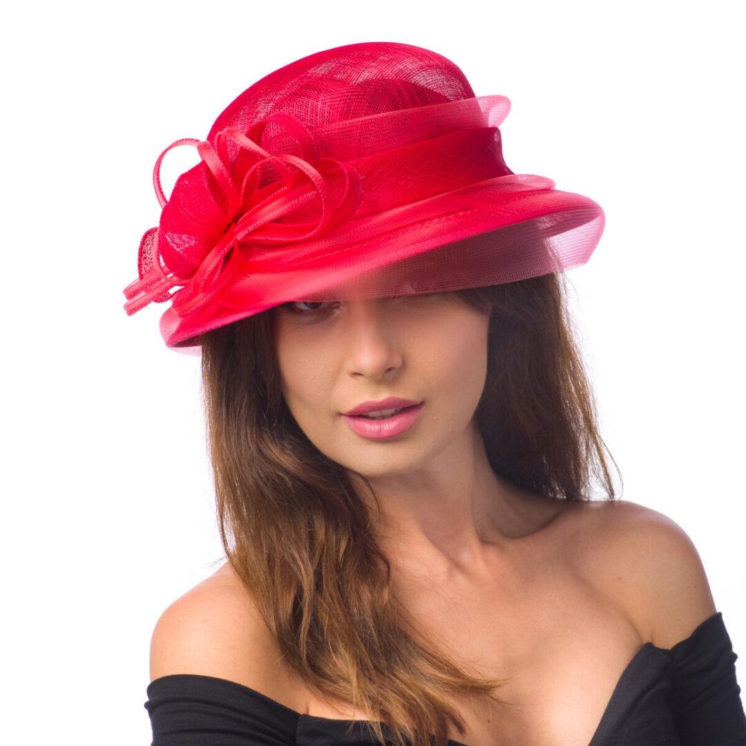 Palarie Fionna, rosie