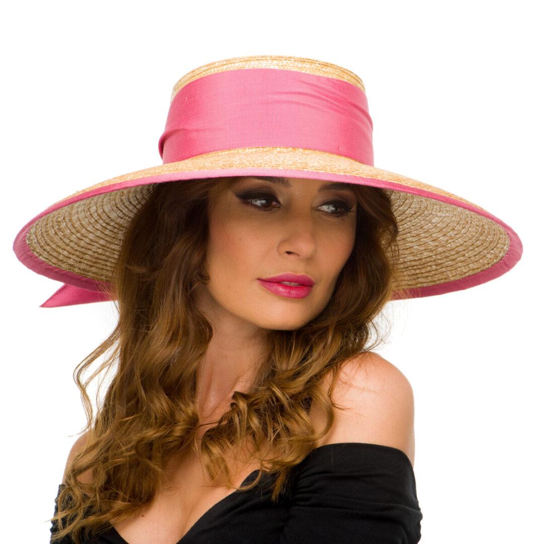 Palarie Cristinne nat/pink