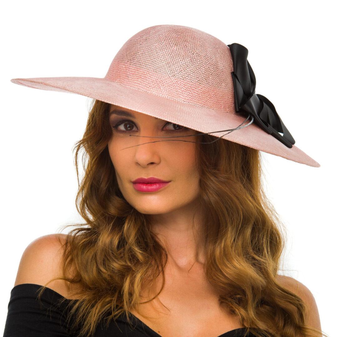 Palarie Sisol, rosa