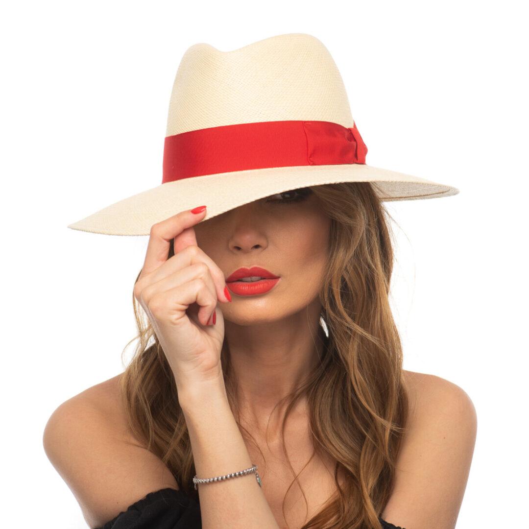 Panama Roma nat/rosso